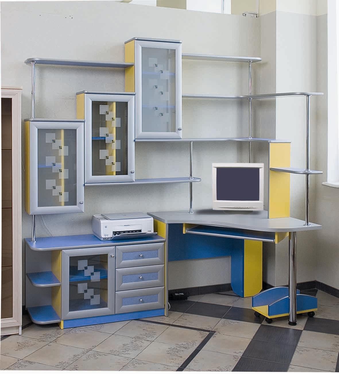 """Компьютерные столы в саяногорске мебель на заказ """"саян мебел."""